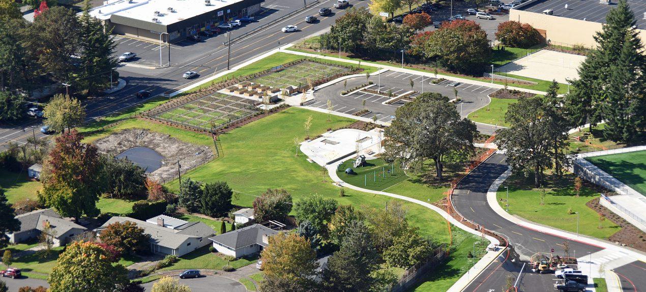 Cedar Hills Park Redevelopment