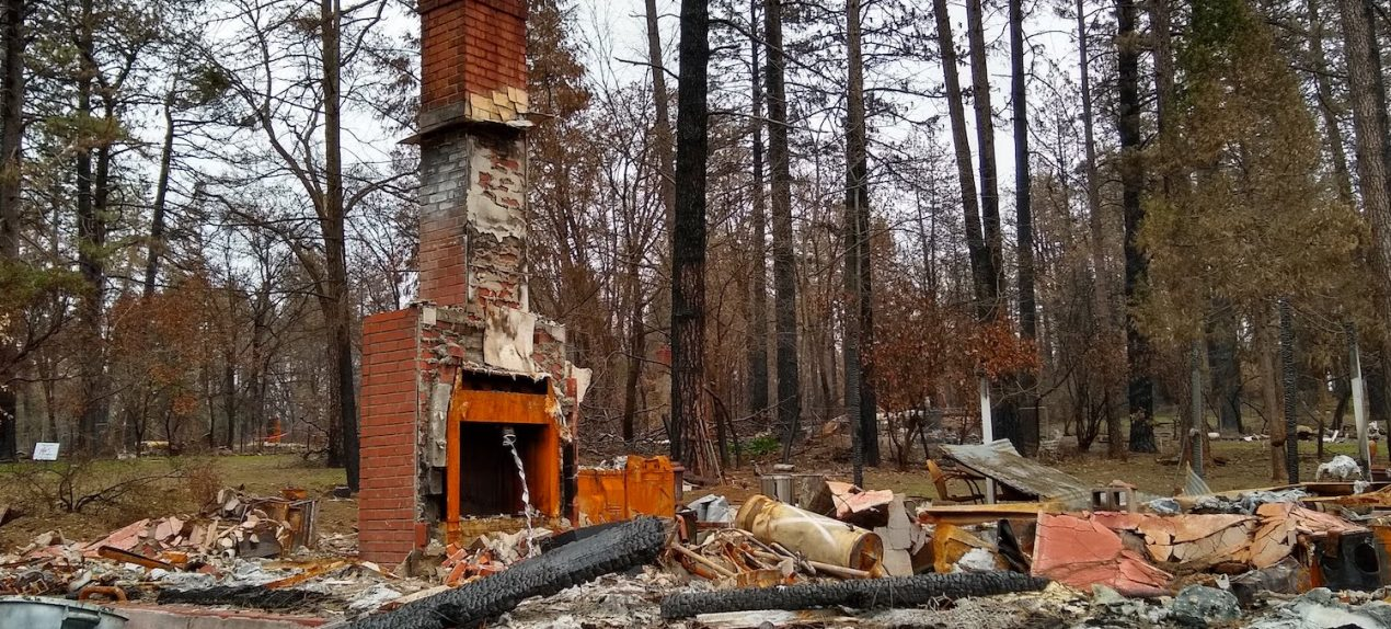 Paradise Camp Fire Debris Clean Up California