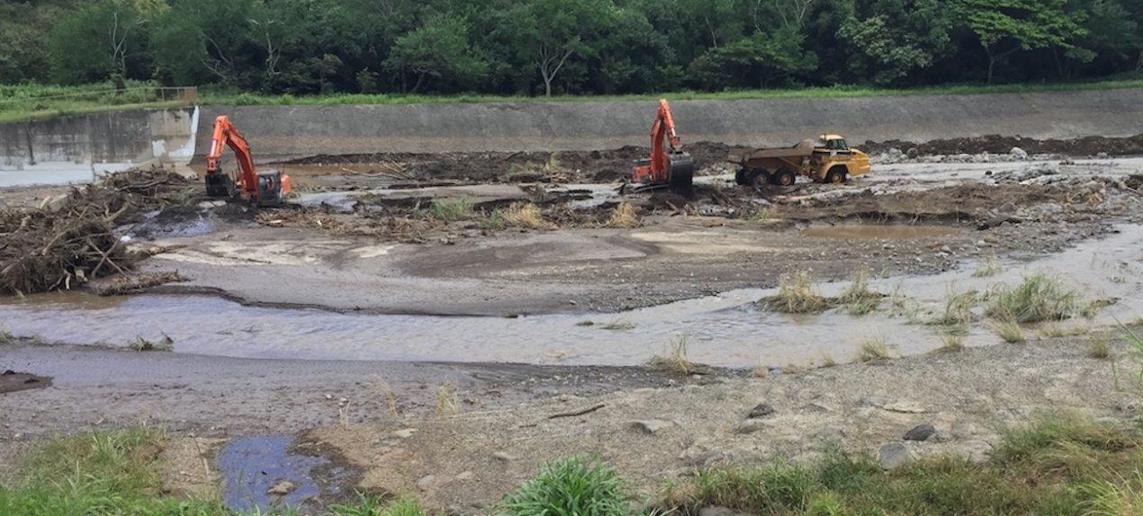 Emergency Repair at Iao Stream Debris Basin Phase 2
