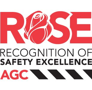 ROSE (Recognition of Construction Safety Excellence) award logo