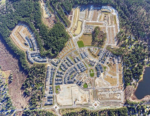 Ten Trails Aerial April 2020