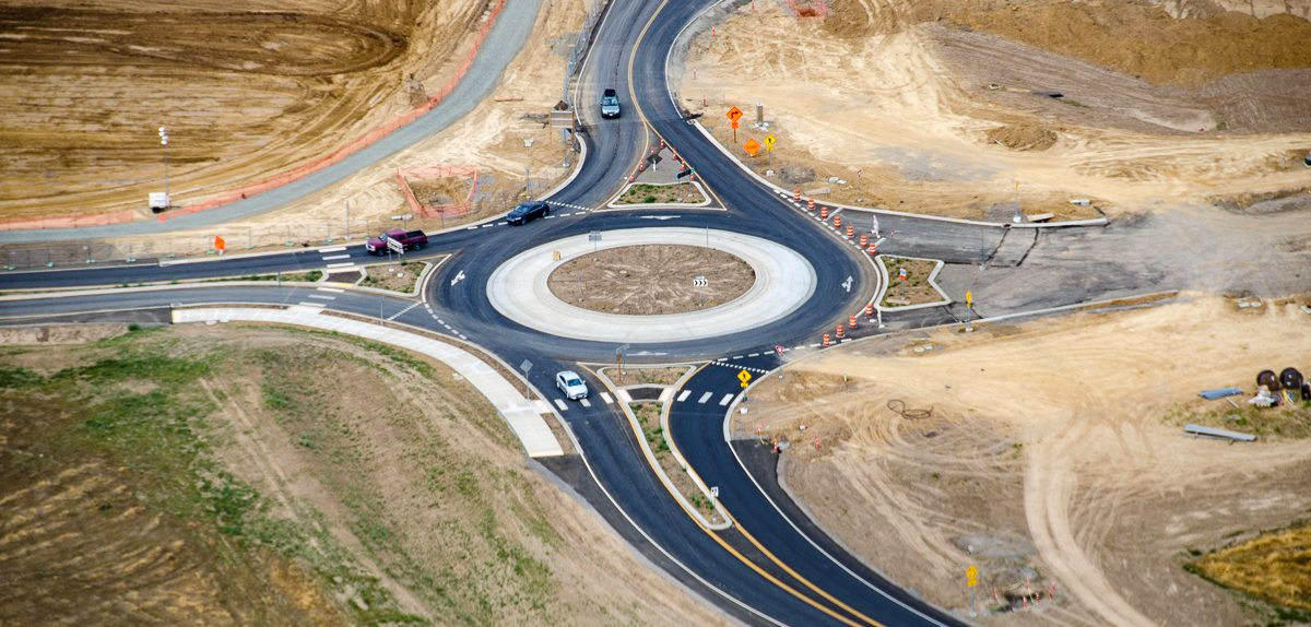 ilani Casino I5 Interchange Roundabout