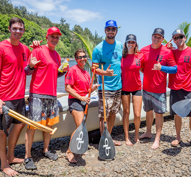 Paddle Imua Team Photo
