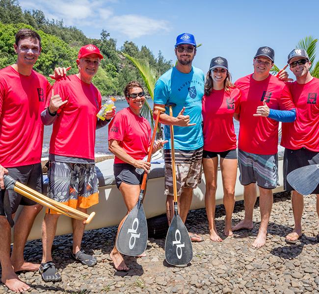 Paddle Imua Team Photo