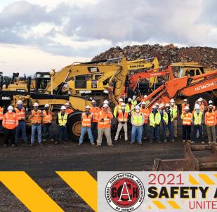 GCA Hawaii Safety Awards 2021